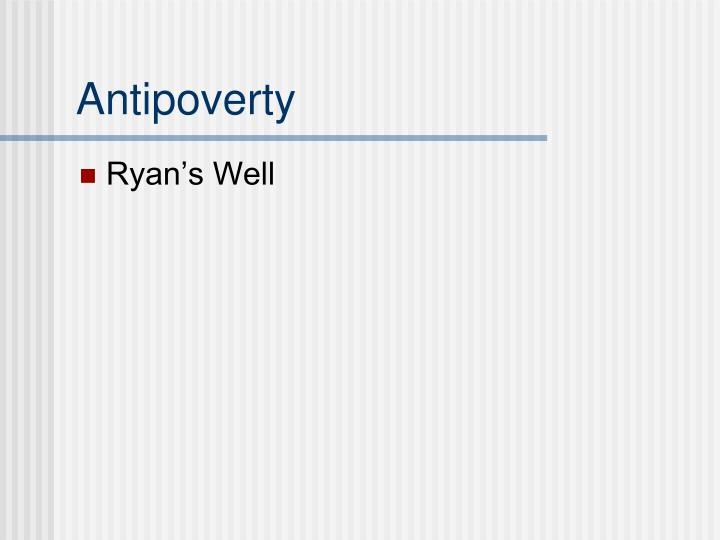 Antipoverty