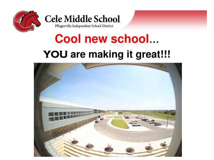 Cool new school