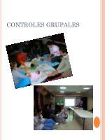 controles grupales