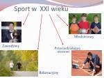 sport w xxi wieku