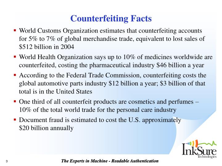 Counterfeiting facts