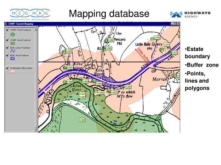 Mapping database