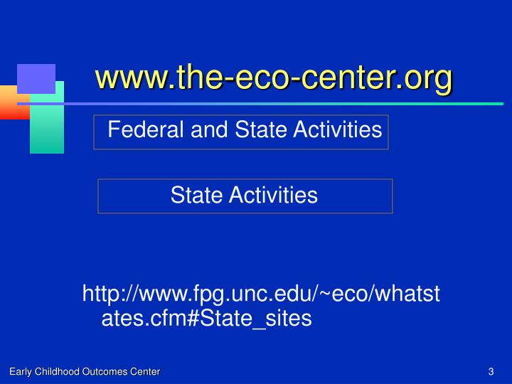 Www the eco center org