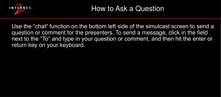 How to Ask a Question