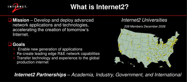 What is Internet2?