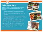 why salad bars