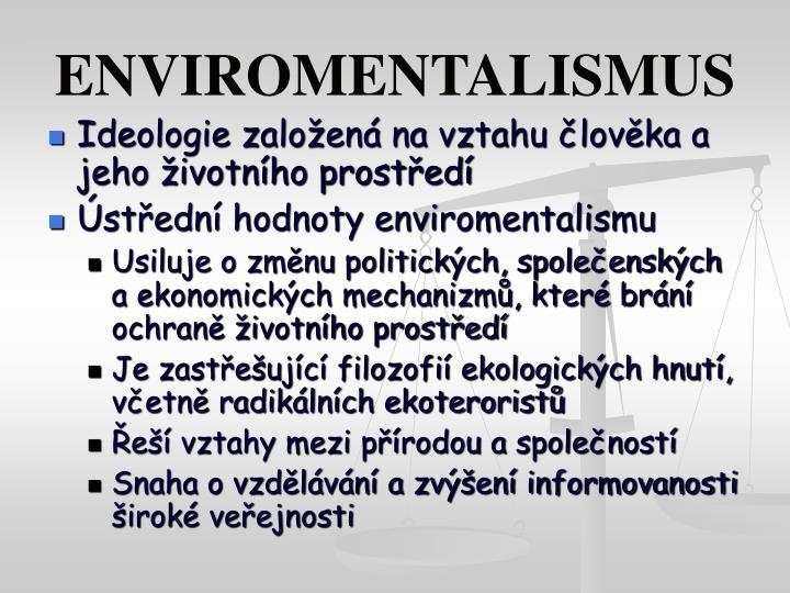 ENVIROMENTALISMUS