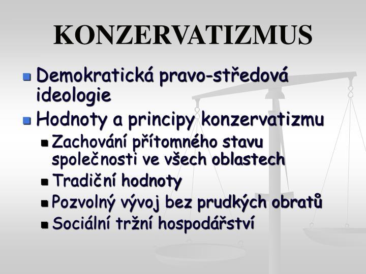 KONZERVATIZMUS