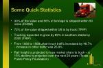 some quick statistics