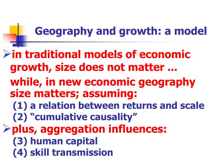 a discussion on germanys model of economic growth and its influence The impact of foreign trade on the economy neutralized the influence of differential growth there to be used for economic discussion.