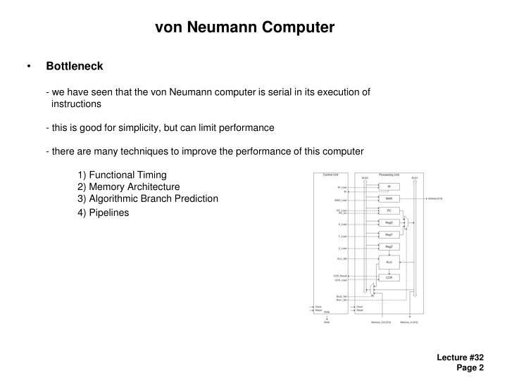 Von neumann computer