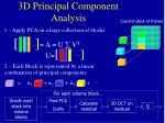 3d principal component analysis