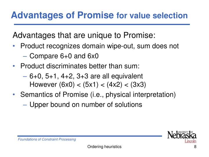 Advantages of Promise