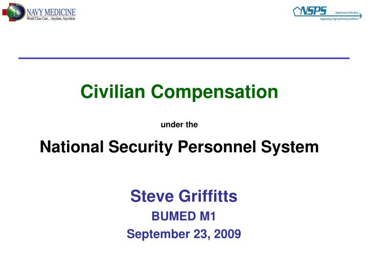 civilian compensation under the national security personnel system n.