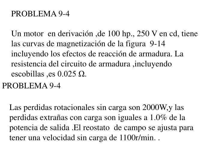 PROBLEMA 9-4