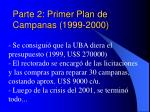 parte 2 primer plan de campanas 1999 2000