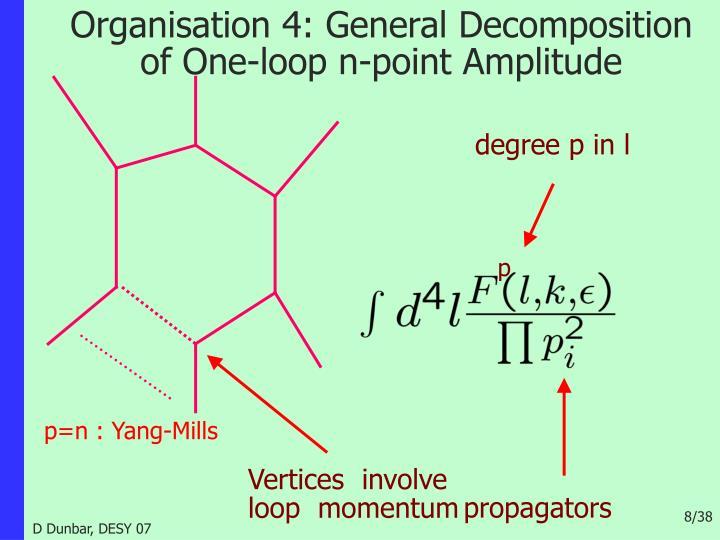 degree p in l