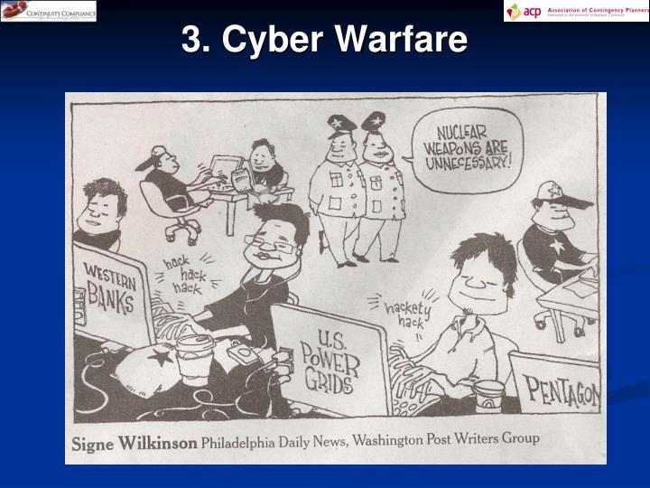 3. Cyber Warfare