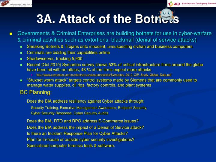 3A. Attack of the Botnets