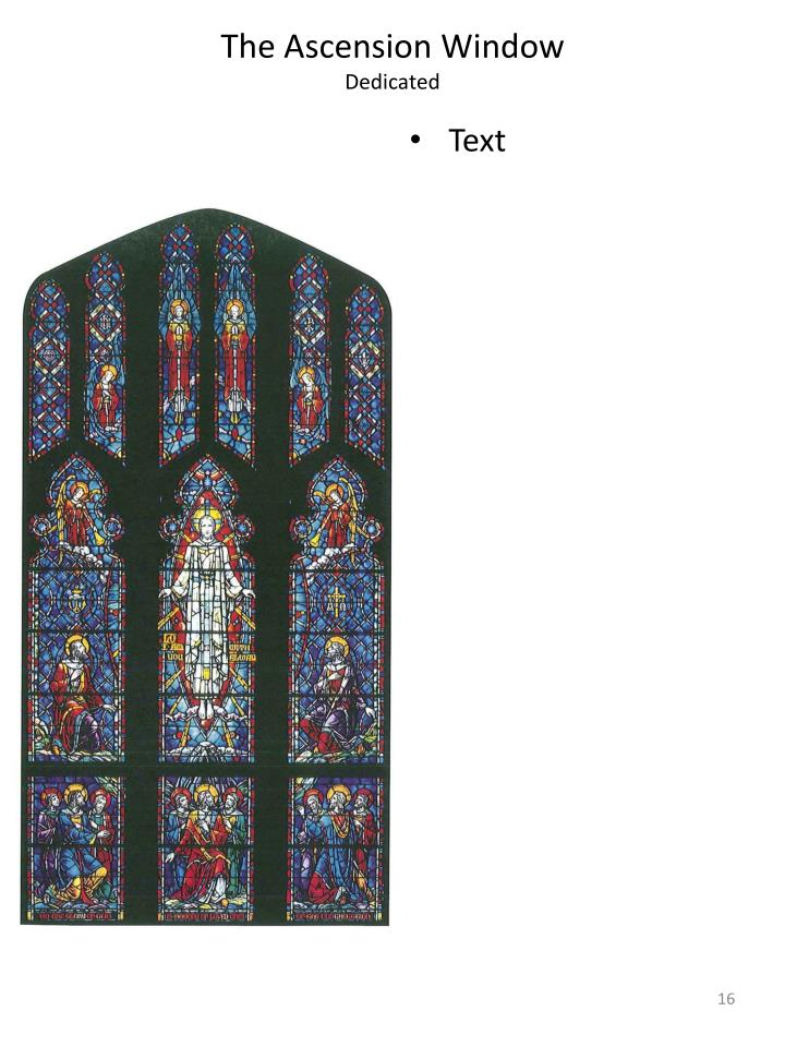 The Ascension Window
