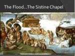 the flood the sistine chapel