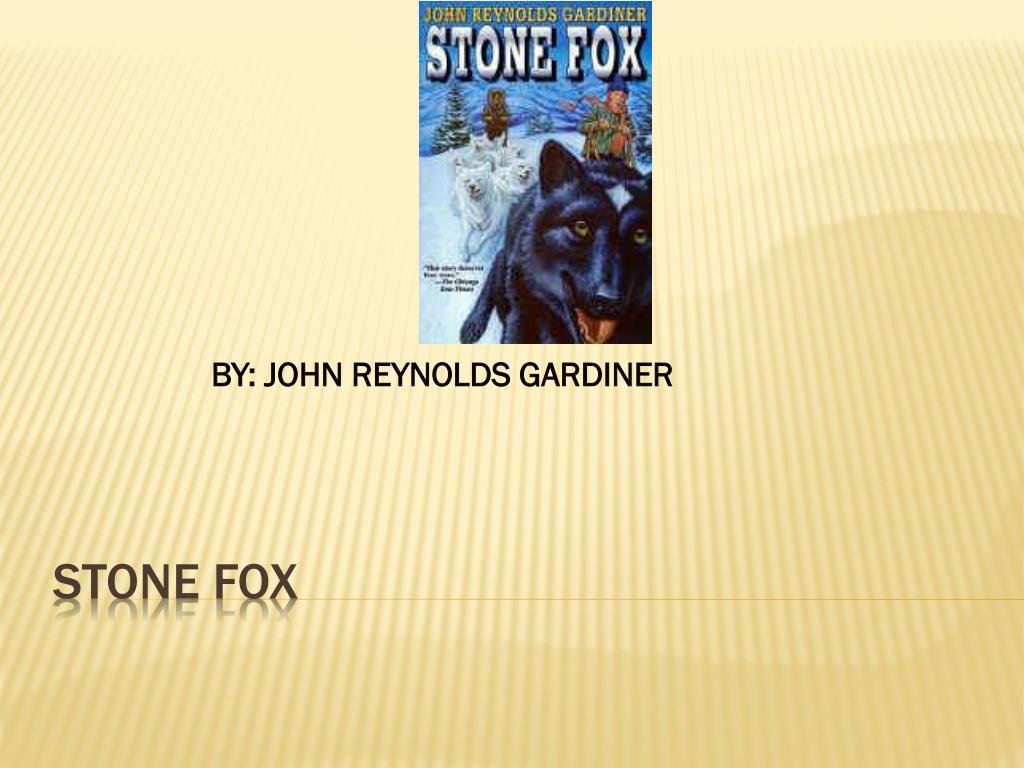 ppt stone fox powerpoint presentation id 4311031