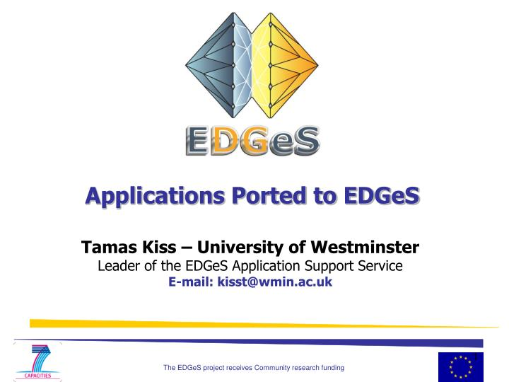 applications ported to edges n.