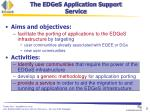 the edges application support service