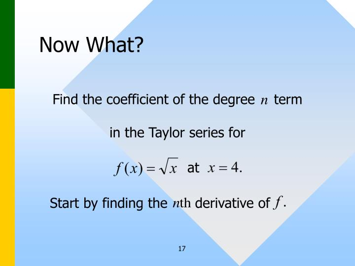 Find the coefficient of the degree