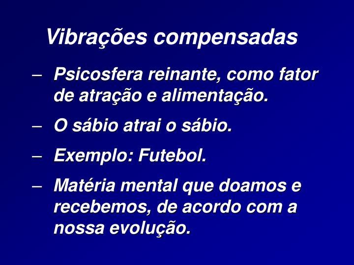 Vibrações compensadas