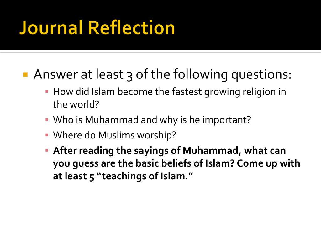 PPT - Unit 6: World Religions Islam PowerPoint Presentation