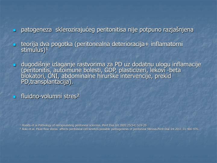 Patogeneza  skl