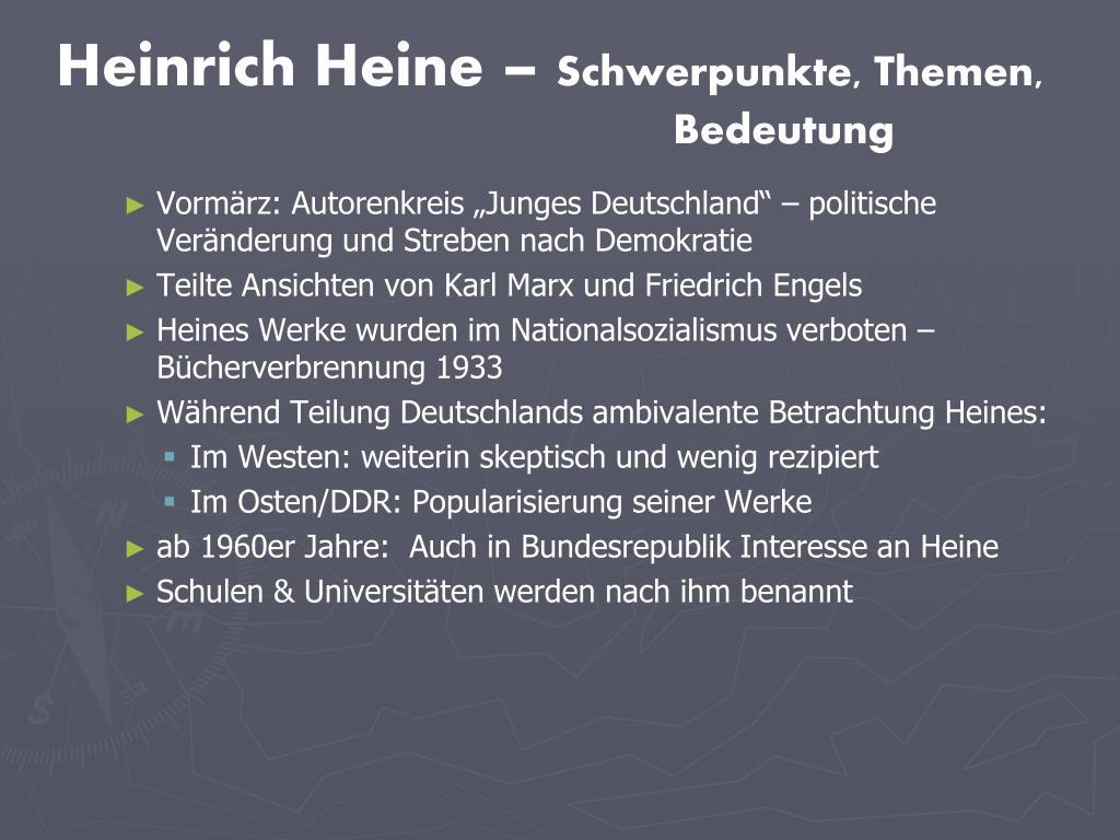Ppt Das Junge Deutschland Powerpoint Presentation Free