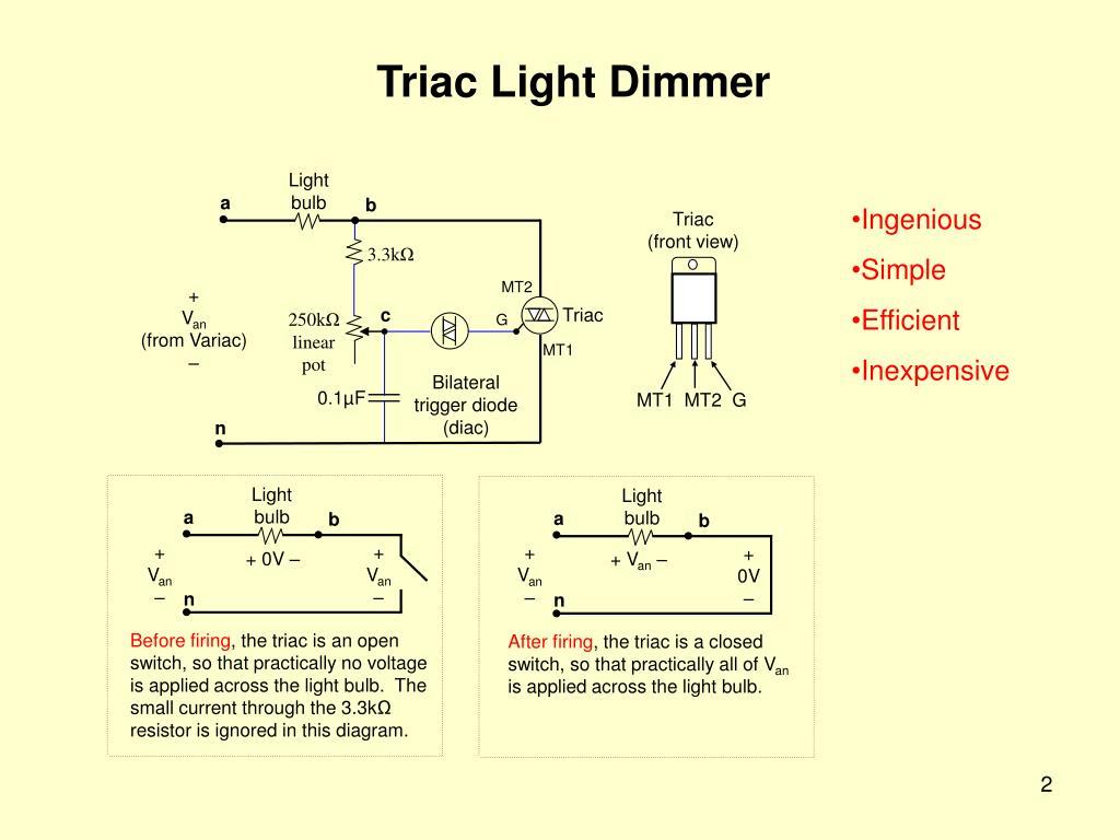 PPT - EE462L, Spring 2014 Triac Light Dimmer PowerPoint