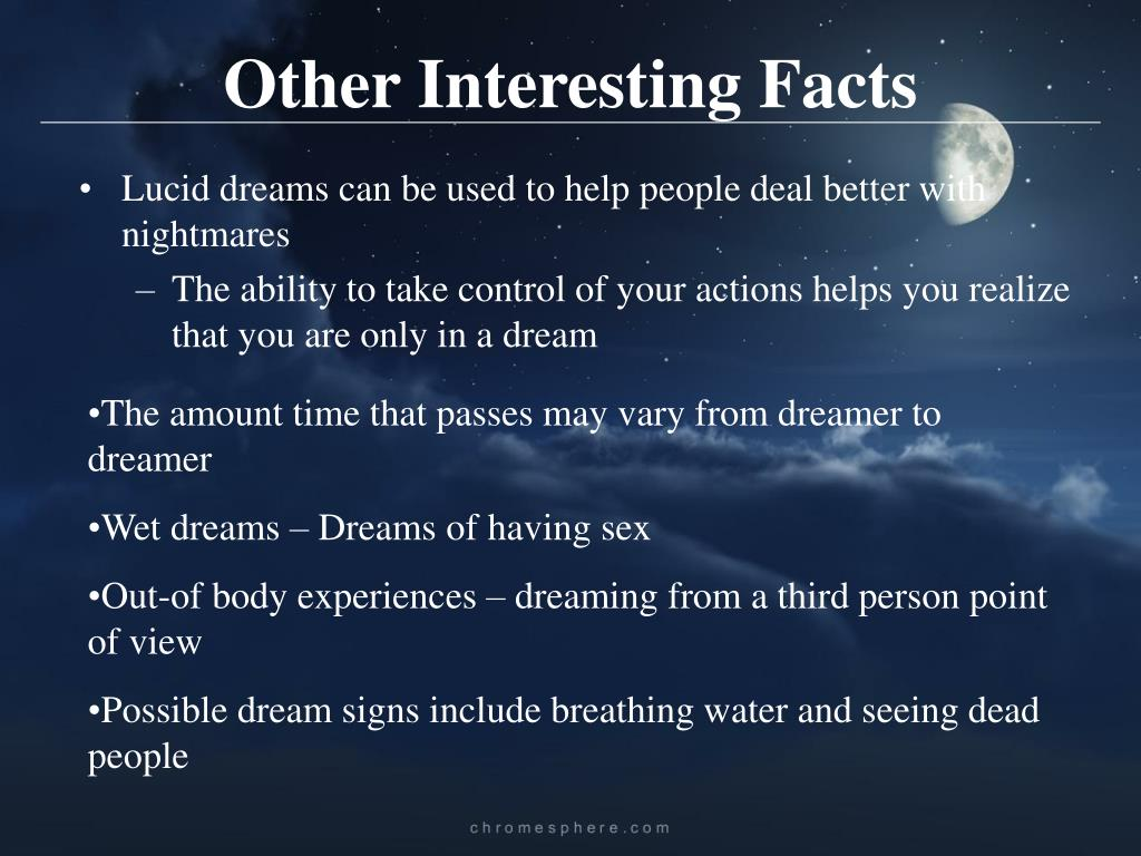 PPT - Lucid Dreams PowerPoint Presentation - ID:4312208