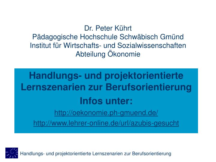 Dr. Peter Kührt