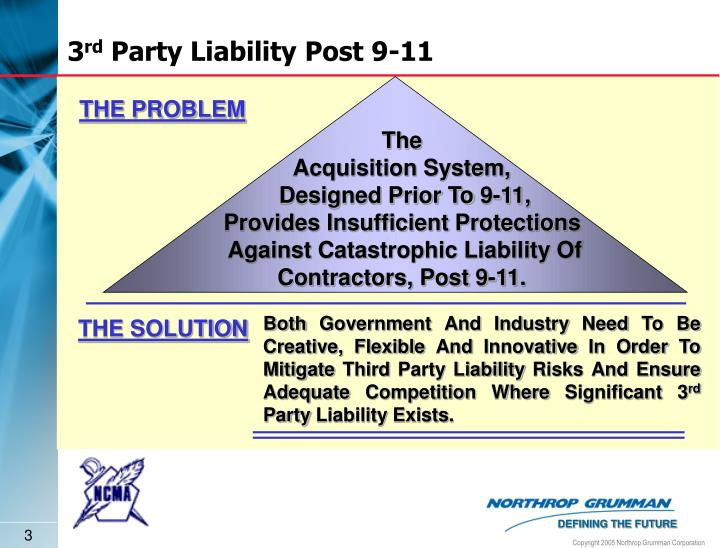 liabilities to 3rd parties