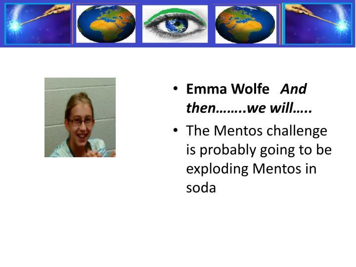 Emma Wolfe