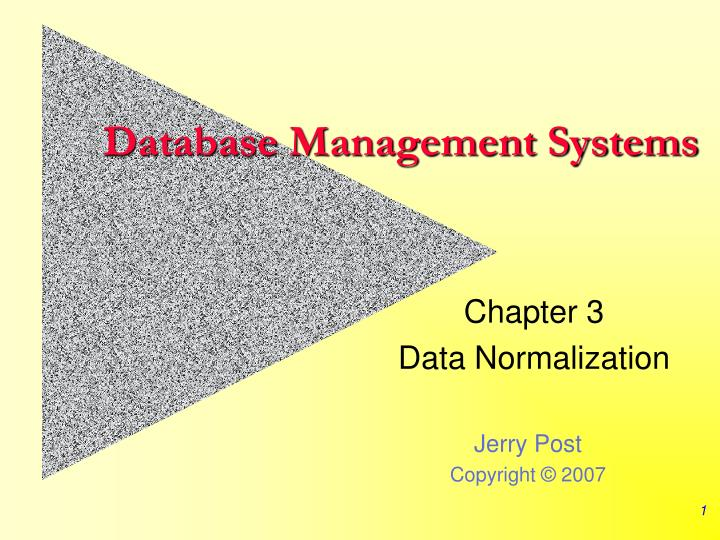 database management systems n.