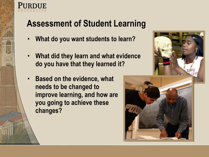 Based on the evidence, what needs to be changed to improve learning, and how are you going to achieve these changes?