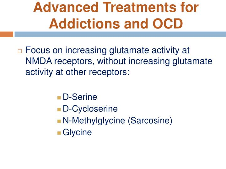 Advanced Treatments for Addictions and OCD