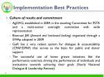 implementation best practices1