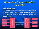 dispositivos de conectividad de redes wan3