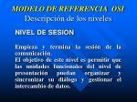 modelo de referencia osi descripci n de los niveles4