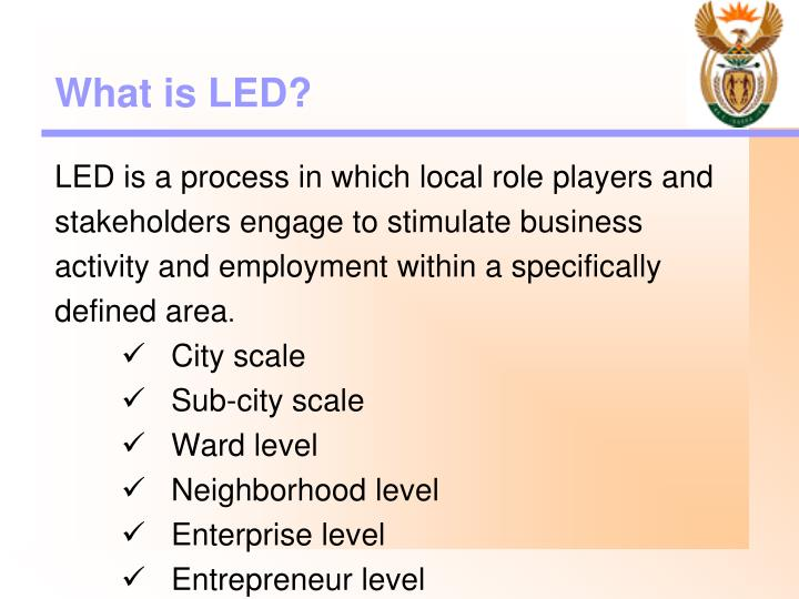 What is LED?