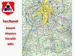 sectional airports airspace navaids mefs