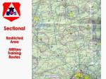 sectional restricted area military training routes