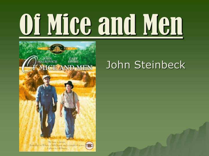 of mice and men alienation