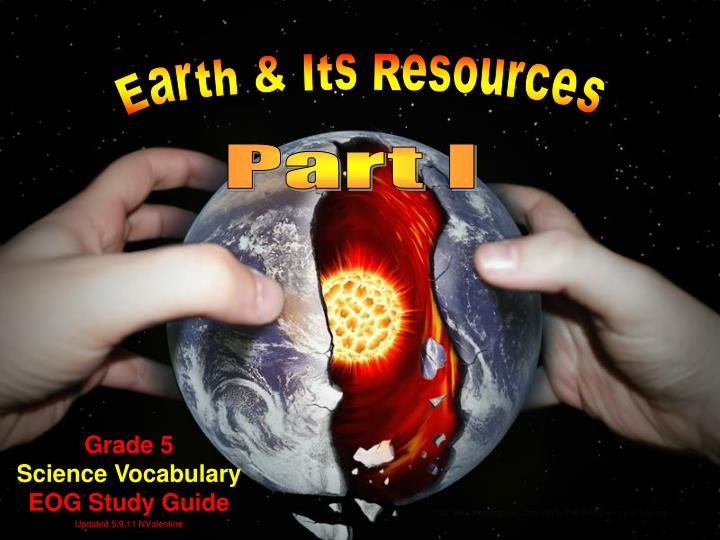 Grade 5 science vocabulary eog study guide updated 5 9 11 nvalentine