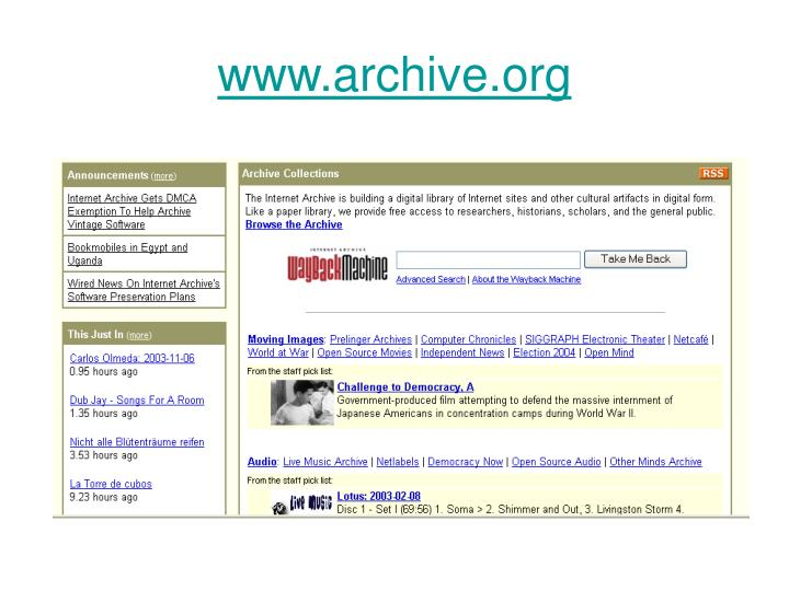 www.archive.org